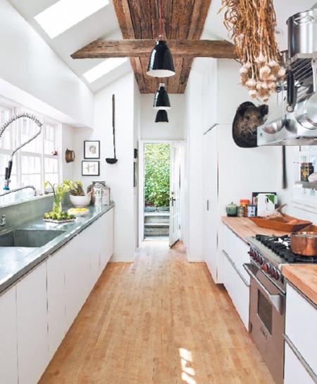 Wide Galley Kitchen Layout