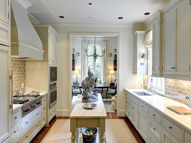 Narrow Galley Kitchen Design Ideas