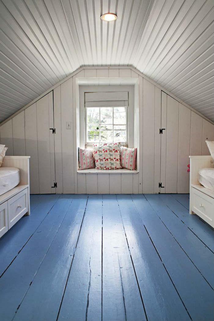 μπλε πάτωμα