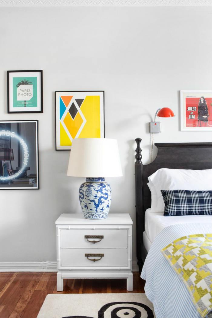 Βάλε χρώμα στο υπνοδωμάτιο για να εντυπωσιάζεσαι κάθε φορά που το βλέπεις!