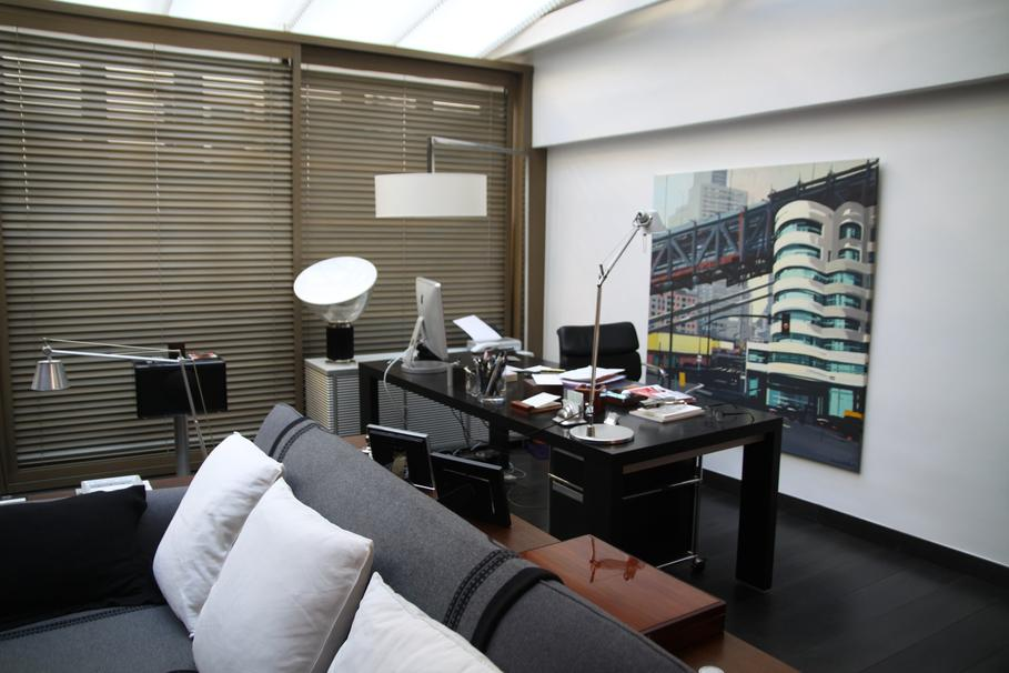 industrielle dans un petit appartement