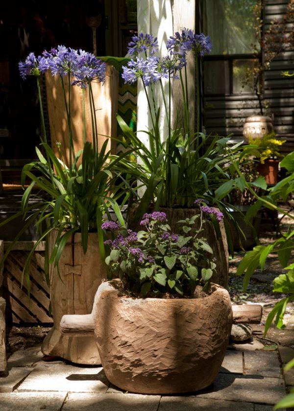 Rustic Outdoor Decor Gardens Ideas