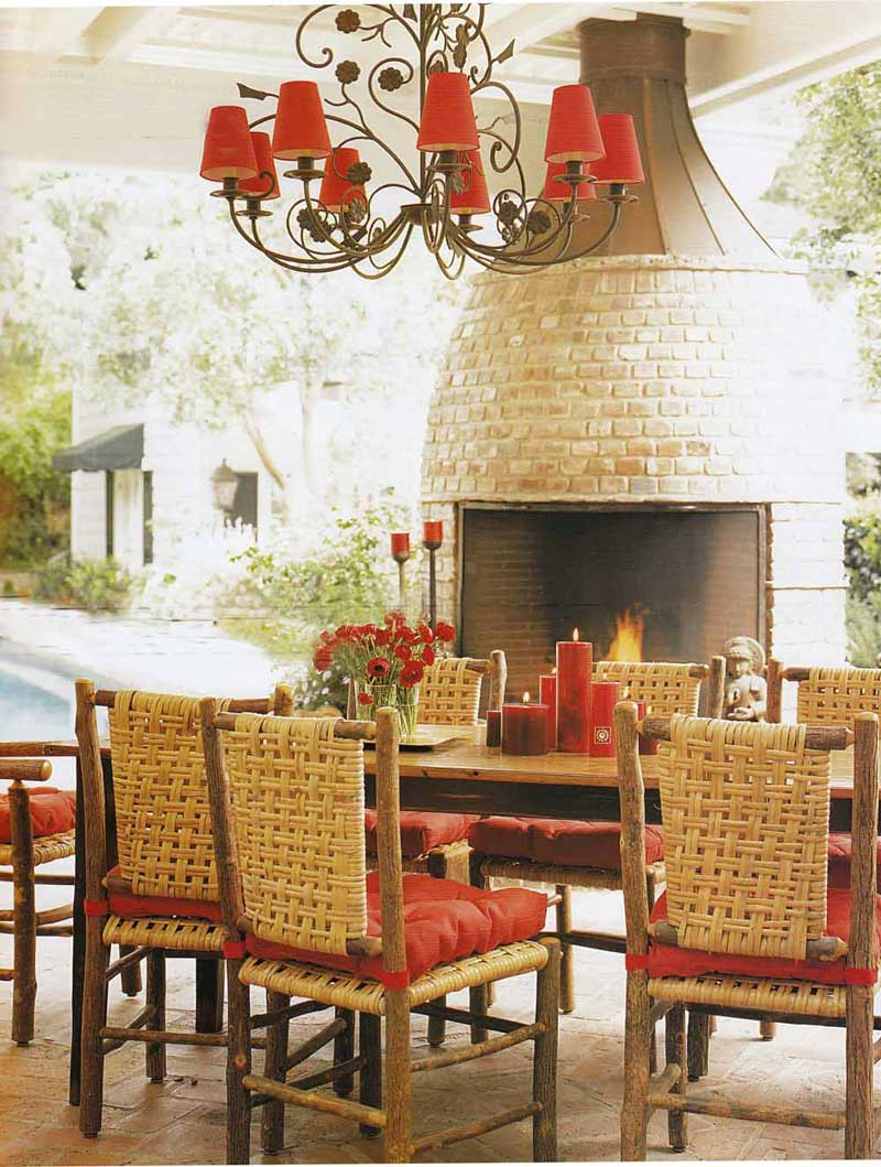 Tropical Dining Room Design 2016
