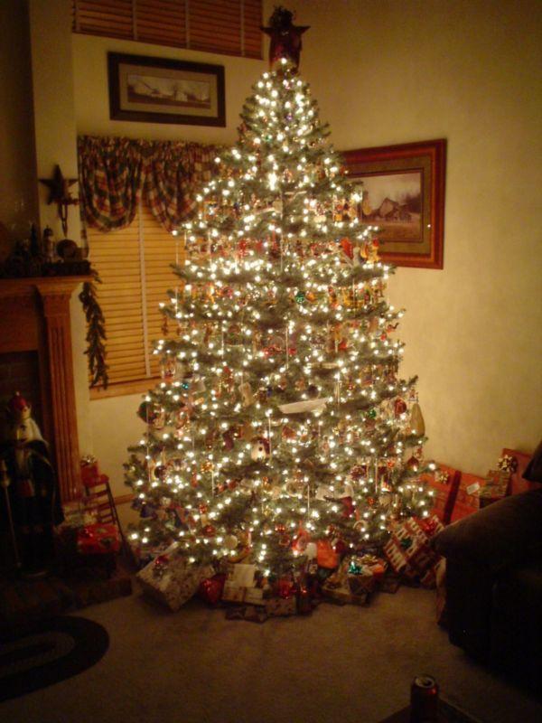 Primitive Country Christmas Tree Fine Design
