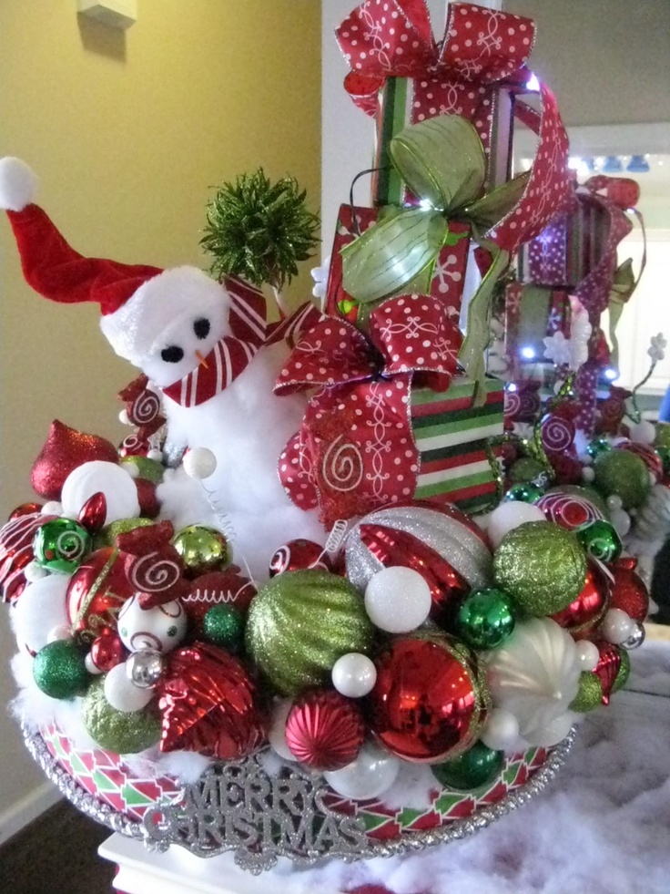 Whimsical Christmas Centerpiece