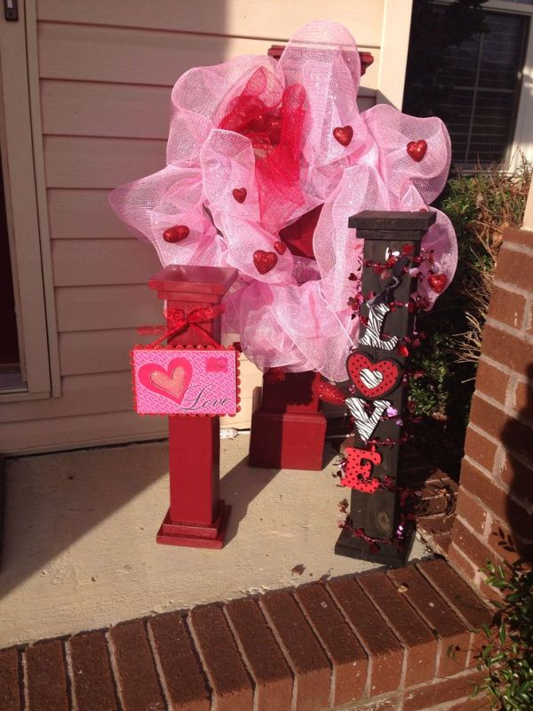 25 Outdoor Valentines Decorations Ideas Decoration Love