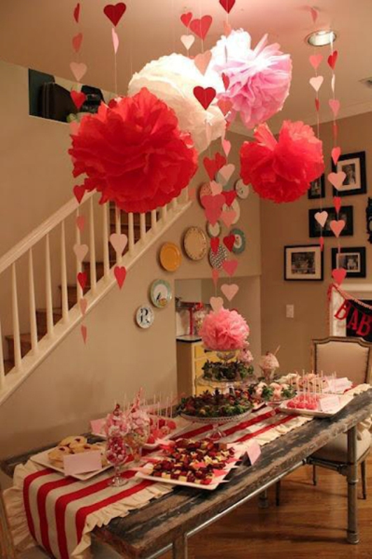 25 Elegant Valentines Decorations Ideas Decoration Love