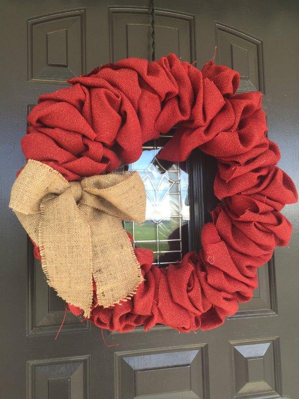 Elegant Wreath Valentines Decorations