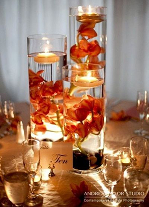 wedding-centerpieces-with-float-candles-and-flowers