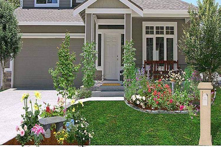 front house yard design