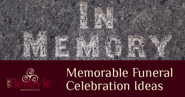 after cremation funeral celebrations