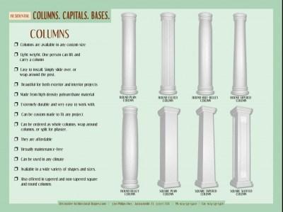 RESIDENTIAL - Columns-a