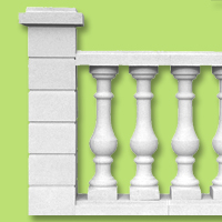 architectural accents balustrade