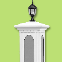 architectural accents lamp post