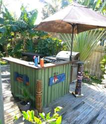 DIY OUTDOOR BAR IDEAS 17