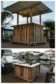 DIY OUTDOOR BAR IDEAS 3