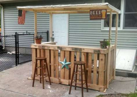 DIY OUTDOOR BAR IDEAS 51