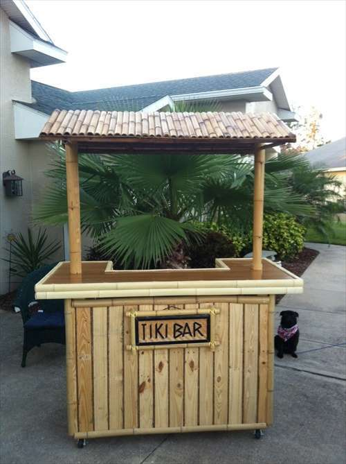 DIY OUTDOOR BAR IDEAS 57
