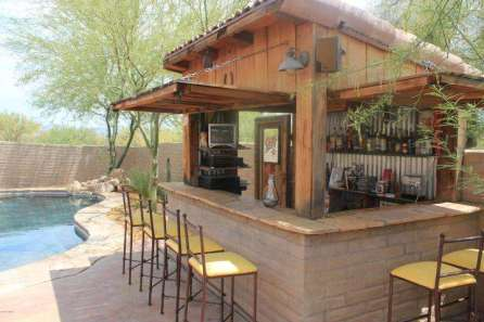 DIY OUTDOOR BAR IDEAS 66