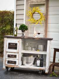 DIY OUTDOOR BAR IDEAS 73