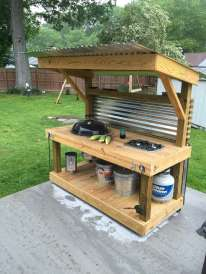 DIY OUTDOOR BAR IDEAS 83