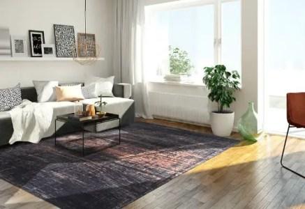 3D rendering of a modern living room