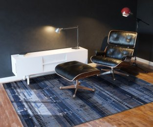 Black Cozy Leather Armchair In Modern Interior 3d Version