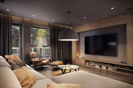 FAMILY ROOMS DECORATING IDEAS 114