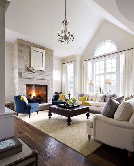 FAMILY ROOMS DECORATING IDEAS 35