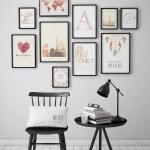 50 Stunning Photo Wall Gallery Ideas 18