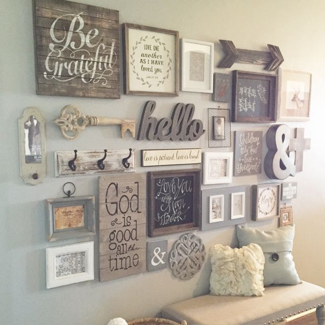 50 Stunning Photo Wall Gallery Ideas 5