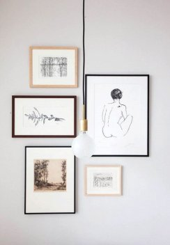 50 Stunning Photo Wall Gallery Ideas 52