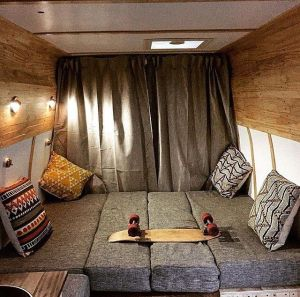 Badass DIY Camper Van Inspiration 44