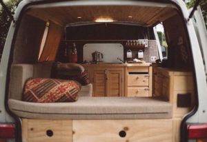 Badass DIY Camper Van Inspiration 45