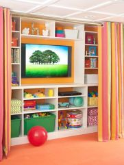 Basement Playroom Ideas 22