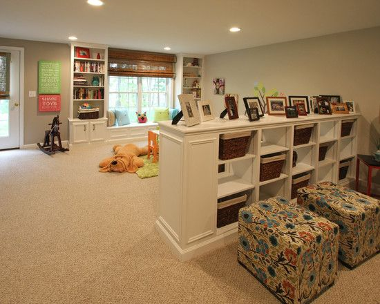Basement Playroom Ideas 26