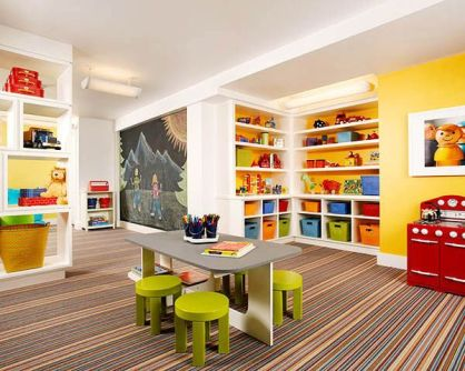 Basement Playroom Ideas 35