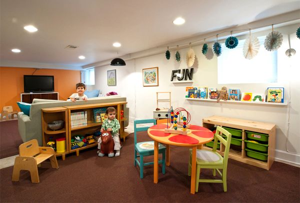 Basement Playroom Ideas 44