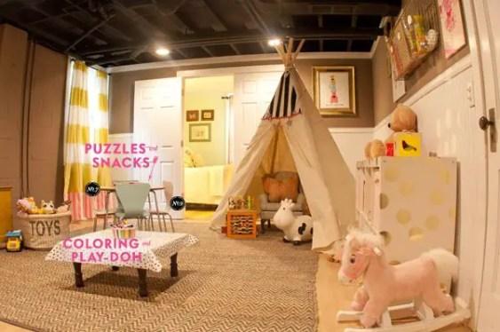 Basement Playroom Ideas 55