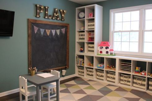 Basement Playroom Ideas 78