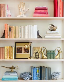 Bookshelf Styling Tips, Ideas, And Inspiration 25