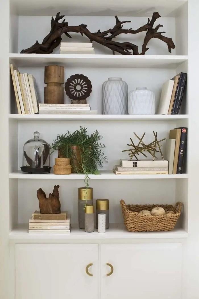 Bookshelf Styling Tips, Ideas, And Inspiration 32