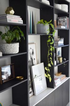 Bookshelf Styling Tips, Ideas, And Inspiration 34