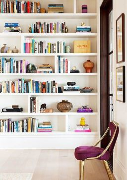 Bookshelf Styling Tips, Ideas, And Inspiration 40
