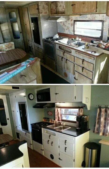 Camper Remodel Ideas 12