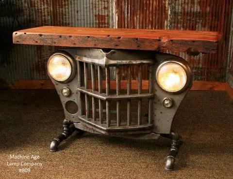 Industrial Furniture Ideas 21