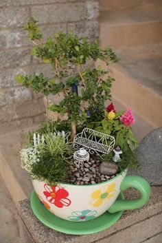 Magical And Best Plants DIY Fairy Garden Inspirations 12