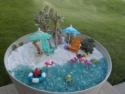 Magical And Best Plants DIY Fairy Garden Inspirations 25