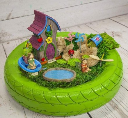 Magical And Best Plants DIY Fairy Garden Inspirations 59