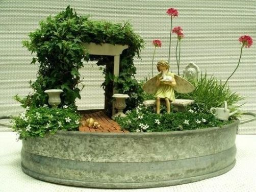 Magical And Best Plants DIY Fairy Garden Inspirations 65